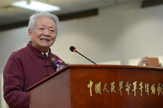 京徽画院院长郭公达先生致欢迎辞