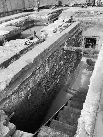 故宫首次发现元代地层,位于隆宗门以西