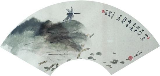 高洪宇  墨荷图