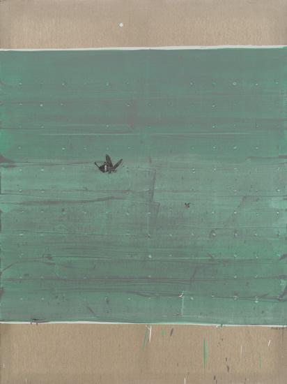 孙策《空白48号》180x135cm布面油画2015