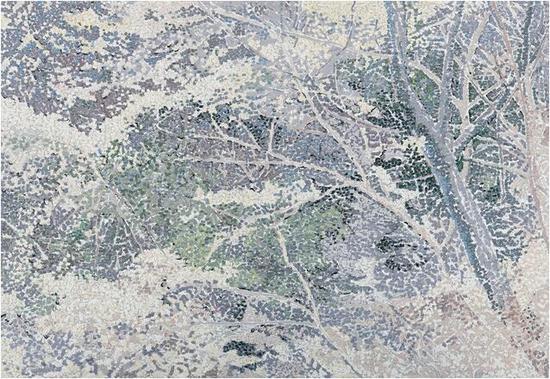 饶松青《再见,桃花源》 布面油画 160 x 130 cm 2015