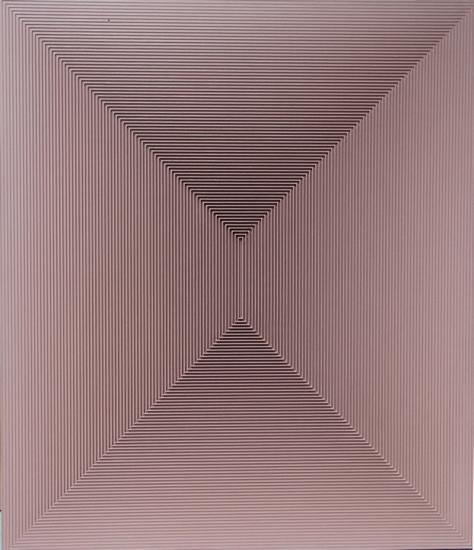 戈子馀《空系列-秋》64X74cm 综合材料2015