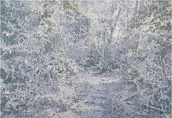 饶松青 《再见,桃花源》布面油画 160 x 130 cm 2015