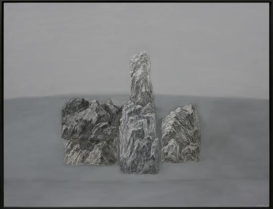 周杰《静物NO.2》150x115cm 布面油画 2014