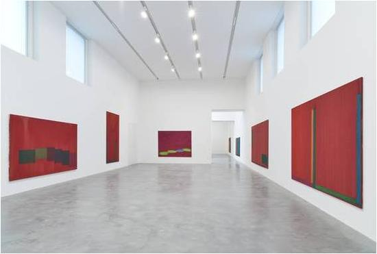 John Hoyland展览,Newport Street Gallery, London