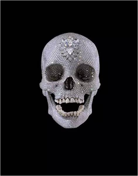 For the Love of God, By Damien Hirst,  2007