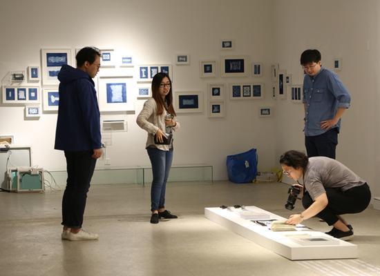 2016中央美术学院毕业季布展现场