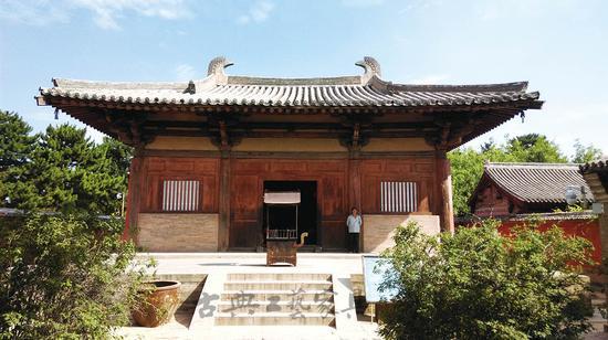 寺大殿,为中国现存最早的唐代木构建筑.-山西高古家具遗存原因分