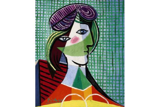 巴勃罗·毕加索(Pablo Picasso),《女士头像》(Tete de Femme),1935 图片:Courtesy Sotheby's