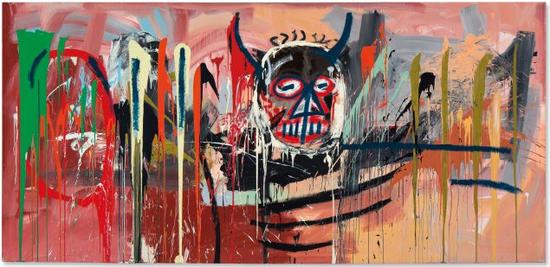 让-米歇尔·巴斯奎特(Jean-Michel Basquiat),《Untitled》,1982 图片:Courtesy Christie`s
