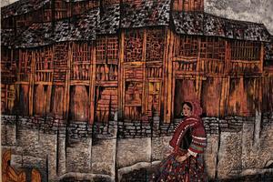 中国民族博物馆民族版画艺术展开幕