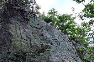 江西彭泽发现470年前摩崖石刻