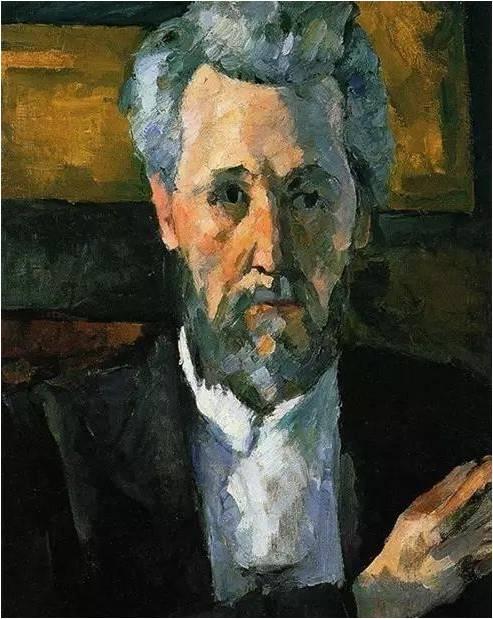 施戴赫林家族收藏之一《维克多・肖克的肖像》 塞尚
