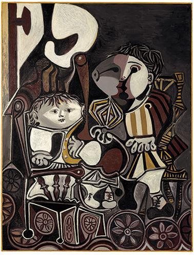 2012年11月5日,大连万达集团斥资1.72亿人民币在佳士得纽约拍卖夜场拍得毕加索名作《两个小孩》