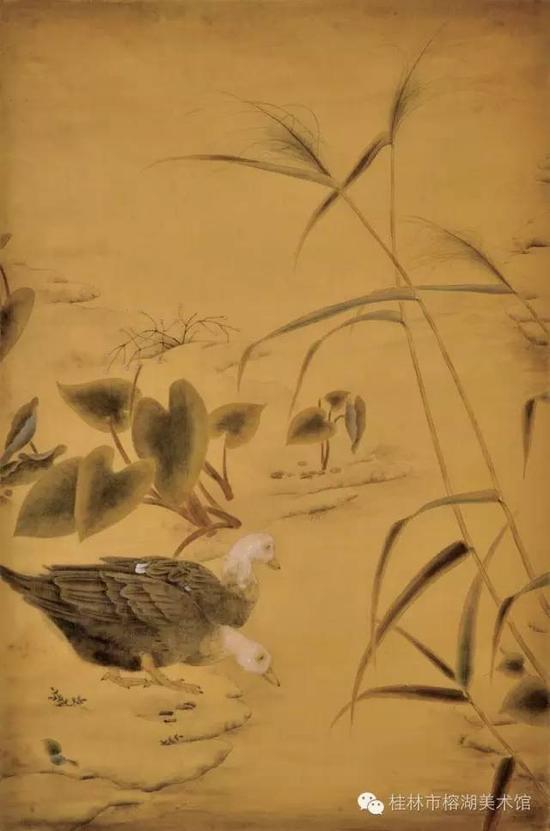 梵心系列之二 68×45cm 绢本设色  莫金玲