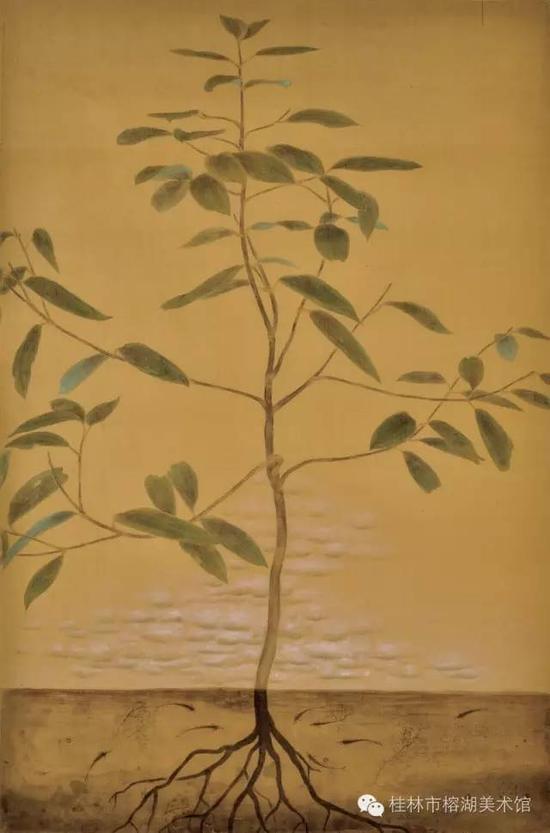 梵心系列之一 68×45cm 纸本设色  莫金玲