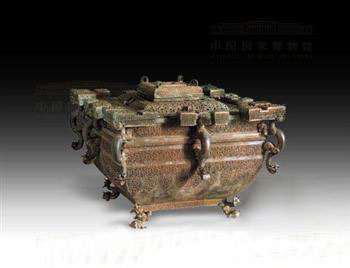 战国青铜冰鉴  中国国家博物馆藏