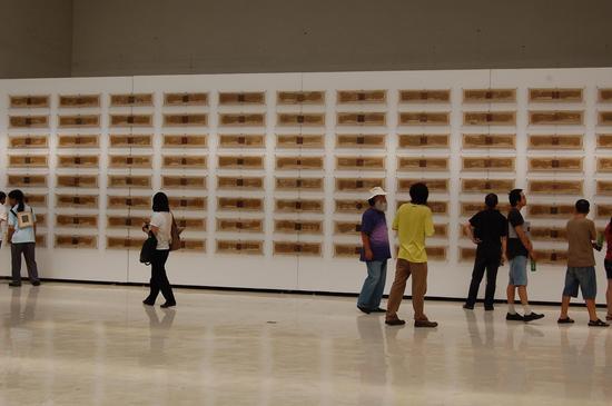 """2010""""烈日西藏""""展览现场"""