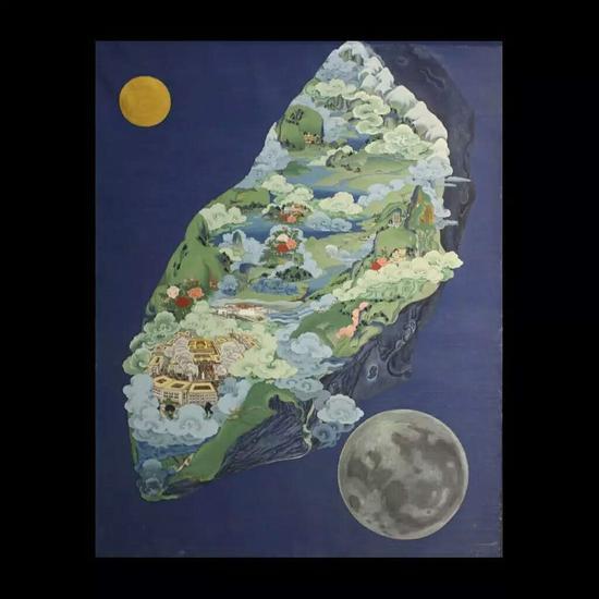 丹增达杰-小行星,矿物质颜料