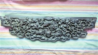 一块雕花老红木牙板收藏记