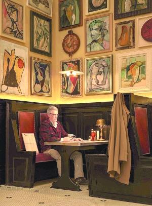 格雷厄姆摄影作品《艺术家在艺术家酒吧,1950》(2016)