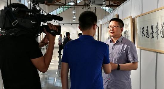 4著名画家 吴宇华接受采访