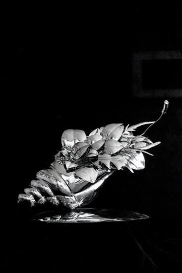 杨莫桐作品-泛兰舟(作品尺寸:0.6m×0.3m×0.5m)材质:不锈钢