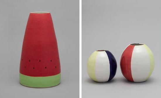 日本陶瓷艺术家 做了古怪而又可爱的瓷器