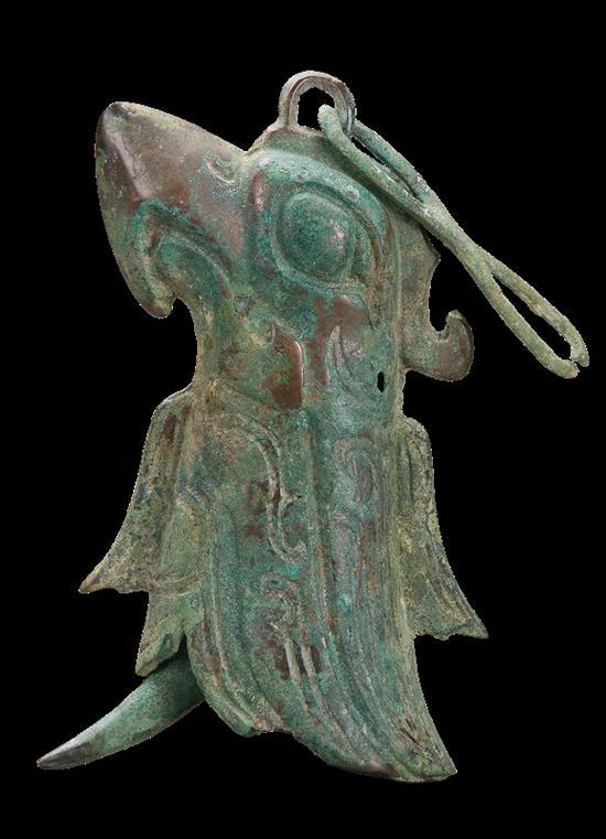 铜鸟形铃铛