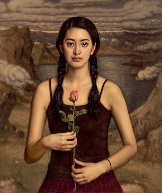 杨飞云经典作品 镶金边的云-2006年