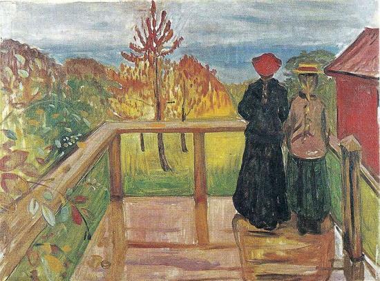蒙克 Edvard Munch - Rain
