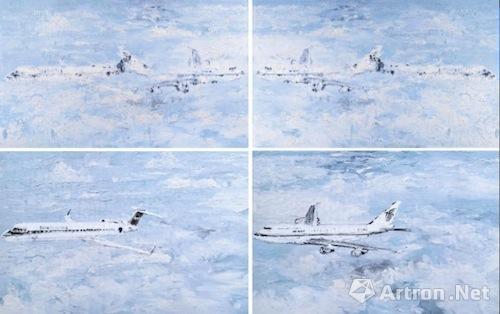 李青   《互毁而同一的像·交尾》 成交价:34.5万   2007年  北京保利2016春拍