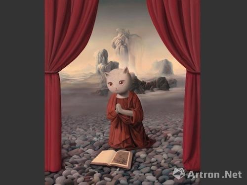 张凯  《那心中的美丽》 成交价:78.2万  2012年  北京保利2016春拍