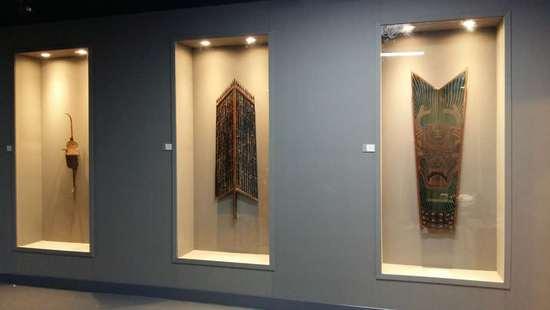 《中国古代盾牌文化展》展览现场