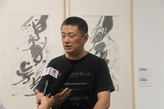 中央美术学院赵力教授接受凤凰网采访