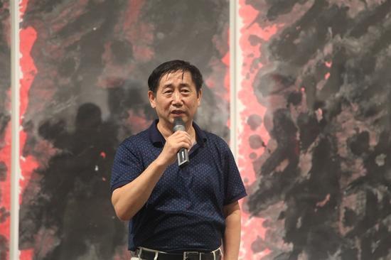北京798管委会主任张国华致辞