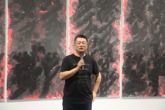 中央美术学院教授赵力致辞