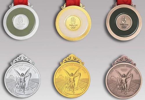 北京奥运会奖牌
