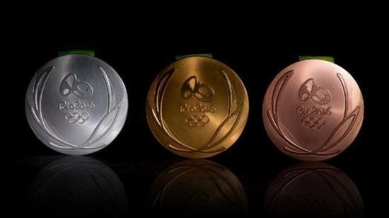 里约奥运会奖牌