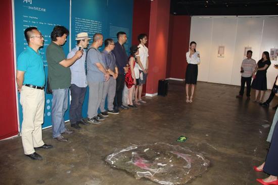 《2015年艺术展览年鉴》编辑启动仪式现场图片