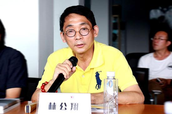 福建省理论学术委员会常务副主任、美术评论家林公翔发言
