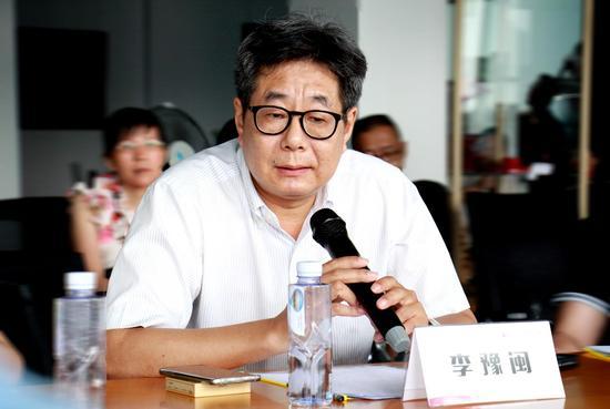福建师范大学美术学院院长、博士生导师、美术评论家李豫闽发言