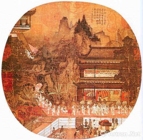(传)赵伯驹《汉宫图》
