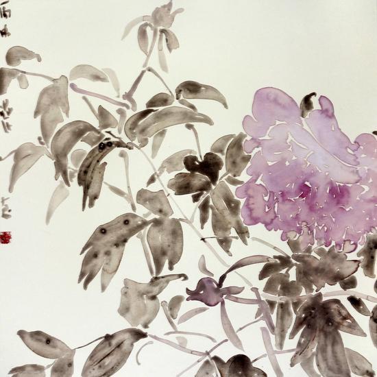 《天香》系列之七68x68cm纸本水墨2016
