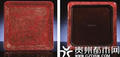 明洪武剔红方盘,成交价2530万港币。
