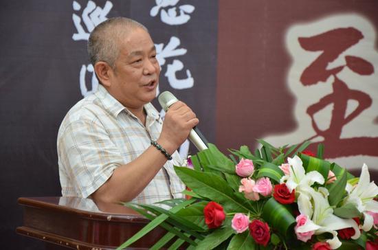 山东省美术家协会主席张志民致辞