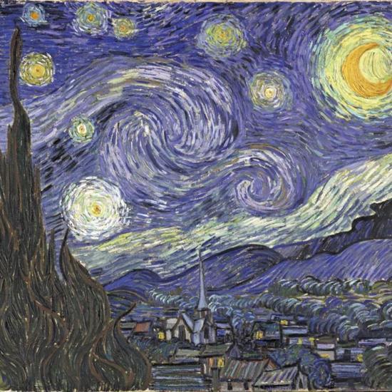 梵高 - 11 The Starry Night