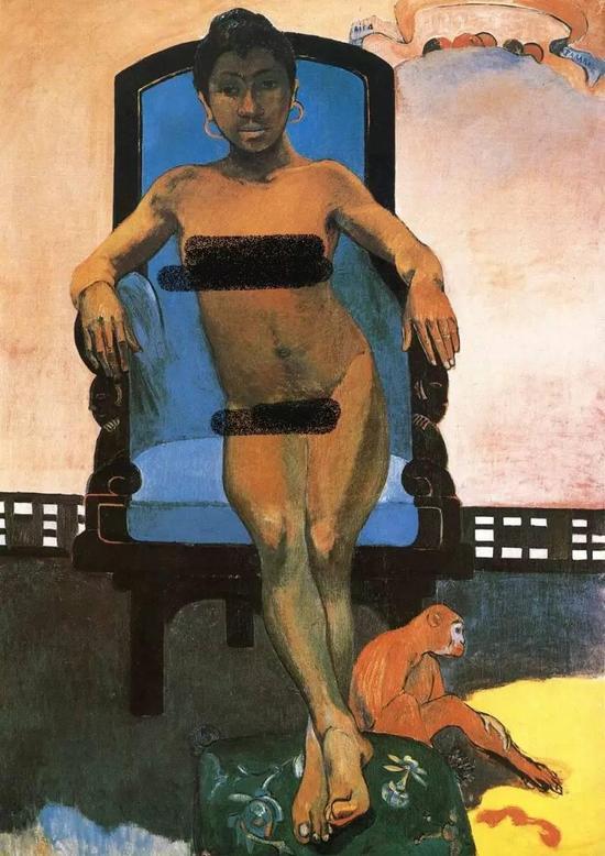 高更 Gauguin - Annah, the Javanese Woman