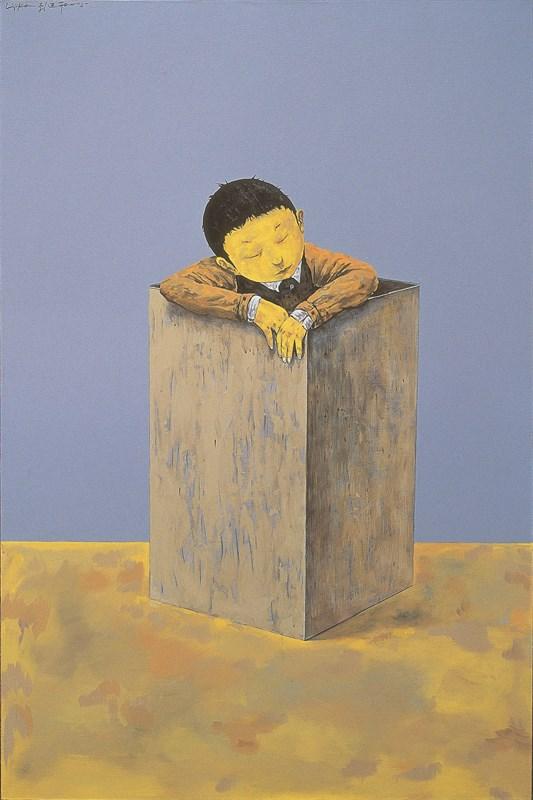 盒子.+Box+150×100cm+布面丙烯Acrylic+on+...(1)