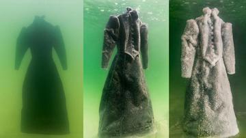 黑色长袍扔进死海 2年后捞出恍如恶灵